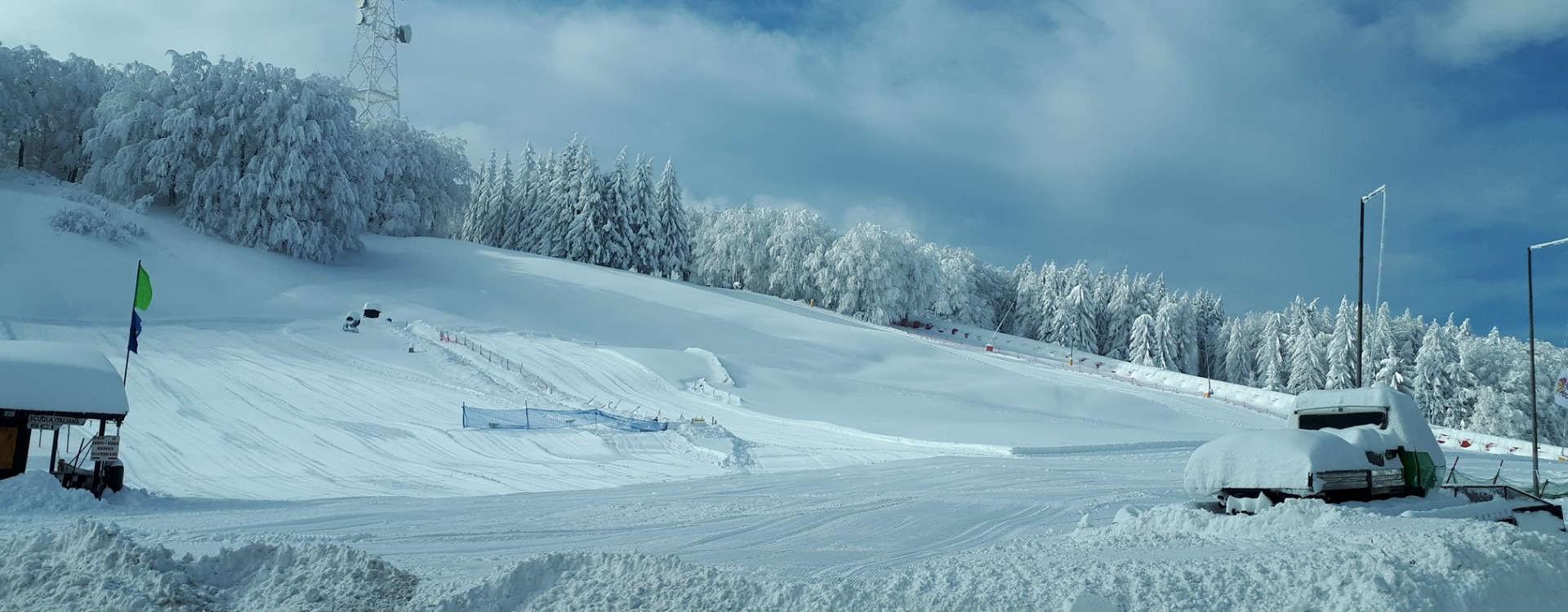 Sport invernali alle Piane di Mocogno: una delle migliori stazioni sciistiche per lo sci e lo sci da fondo